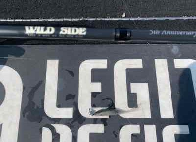 8月24日は練習でウェンティリグ!(GETNETジャスターフィッシュ2.5カルティバスイングヘッド0.9gセット)で57cm他