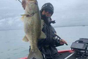 3月13日琵琶湖ガイド練習で51cm他