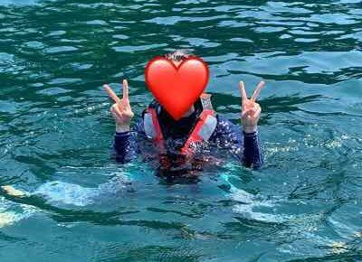 7月24日琵琶湖ガイドはOさんと顔出しNGのYさんと琵琶湖の灼熱の夏をエンジョイ!